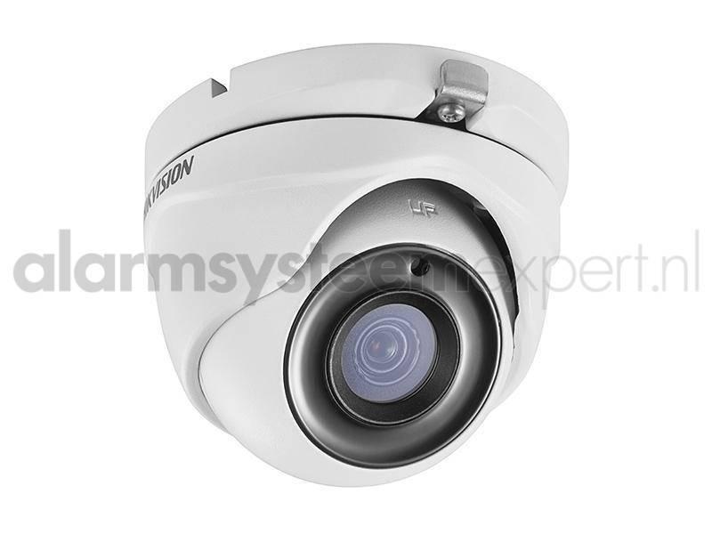 ¡Esta cámara domo HD-TVI tiene una carcasa compacta con lente Ultra Low Light y Power over Coax! PoC significa que la cámara puede alimentarse desde la grabadora y que la fuente de alimentación y la imagen pasan por un cable coaxial.
