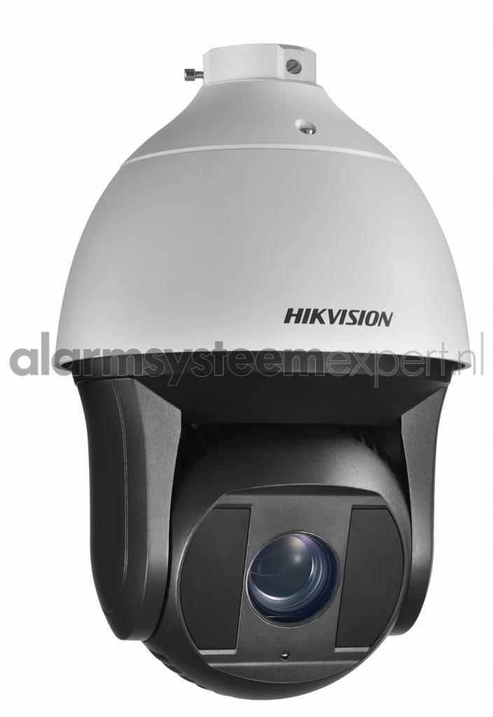 Les caméras PTZ Hikvision Darkfighter sont capables d'afficher des images colorées de haute qualité dans des conditions d'éclairage minimal. Ceci est possible à partir d'un niveau d'éclairage de 0,002 lux (couleur). L'appareil photo dispose également de T