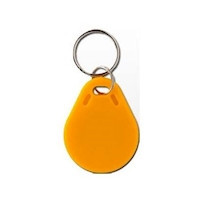 Etiqueta Mifare amarilla adecuada para soluciones de acceso con lectores MiFare