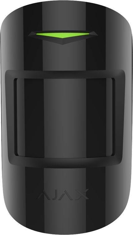 Combiprotect motion detector with glass breakage wireless, black
