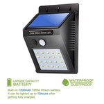 AlarmsysteemExpert.nl Klein model LED schriklamp voor buiten met sensor (draadloos)