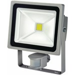 AlarmsysteemExpert.nl LED-Quenchlampe mit Sensor 30 W 2100 lm Grau CLEARANCE