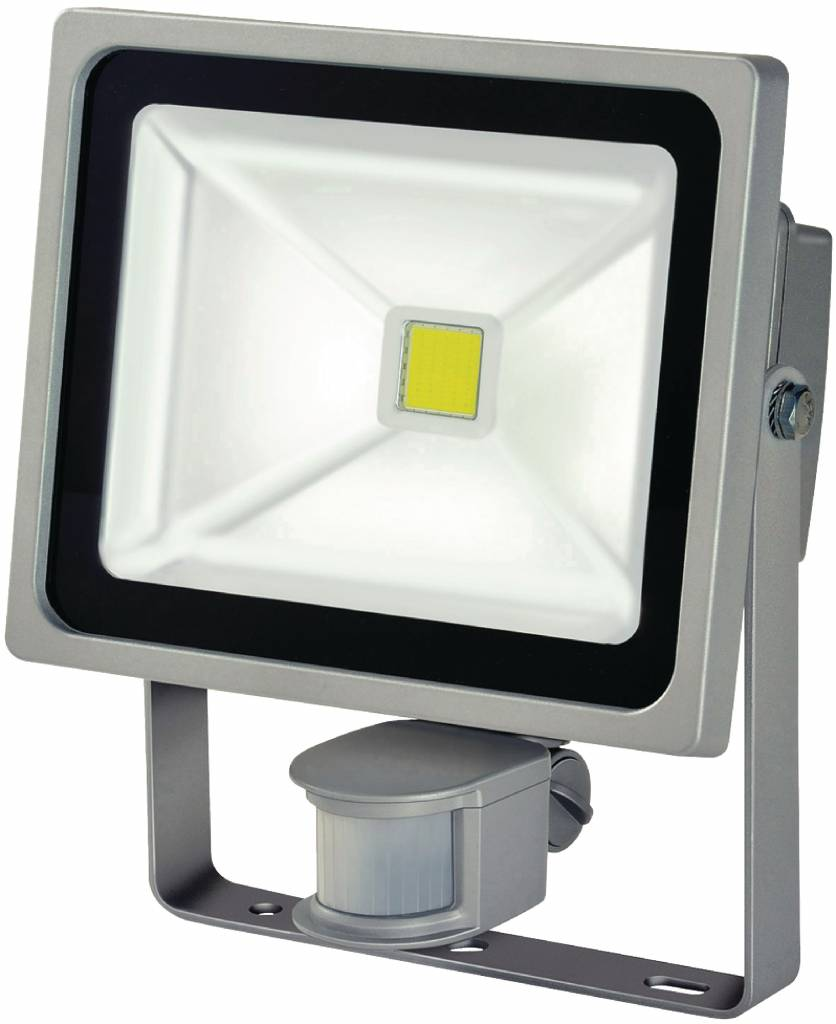 LED-Quenchlampe mit Sensor 30 W 2100 lm Grau CLEARANCE