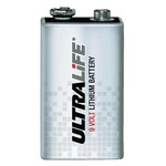 Visonic Batería de litio de 9 voltios Ultralife