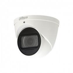 La mini caméra Dahua HAC-HDW2241TP-A intérieure / extérieure, mini-IR-Eyeball anti-vandalisme, 2 mp, avec objectif fixe de 2,8 mm fournit une image de nuit très claire grâce à la technologie Starlight. IP67, IK10. Cette caméra dôme compacte Full Hd de Dah
