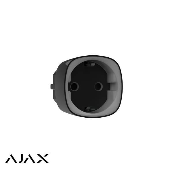 Ajax Socket, een slimme stekker die niet hoeft te worden geïnstalleerd – slechts een paar seconden is nodig om verbinding te maken met de hub en de socket is gereed voor gebruik. Met de Ajax Socket kan de stroomtoevoer van een aangesloten apparaat beheren