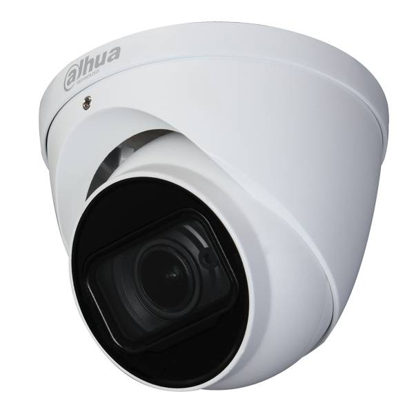HAC-HDW2802T-Z-A, 4K Starlight HDCVI IR Eyeball Camera, Motorzoom