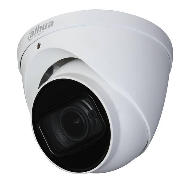 HAC-HDW2802T-ZA, 4K Starlight HDCVI IR Eyeball Camera, Motorzoom