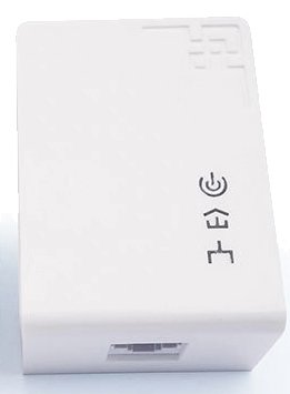 Powerline Adapter 1200Mbps, Homeplug separado (3-Phase)