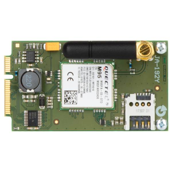 O Pro Central equipado com um discador JA-192Y GSM se comunica através de uma rede móvel com uma estação de monitoramento central, permite a operação e aplicativos móveis via web e envia mensagens SMS de alarme e mensagens de voz.