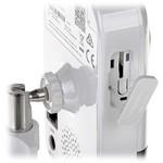 Hikvision DS-2CD2443G0-IW-2.8mm cubo de câmera de 4 megapixels, IR e microfone, WiFi, slot micro SD