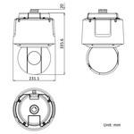 Hikvision DS-2DF6A225X-AEL   4 Megapixel   Interno/Esterno   Visione notturna   Zoom 25x  