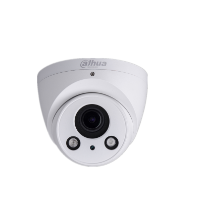 The Dahua IPC-HDW2531RP-ZS is a 5 megapixel Full HD eyeball camera with infrared night vision and a motorized varifocal lens suitable for indoor or outdoor, PoE and microSD recording. The camera must be used with the Dahua SmartPSS and Toolbox software an