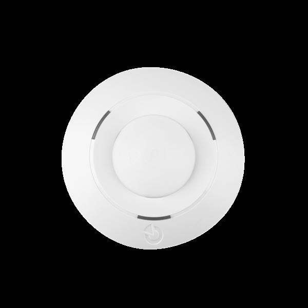 Das Produkt ist ein Bussystemgerät für Midway Pro und Essex Pro. Dieser 360 ° -Detektor erfasst Bewegungen des menschlichen Körpers in Gebäuden. Im Vergleich zu Standard-Bewegungsmeldern JABLOTRON 100 ist dieser Melder für die Deckenmontage ausgelegt.