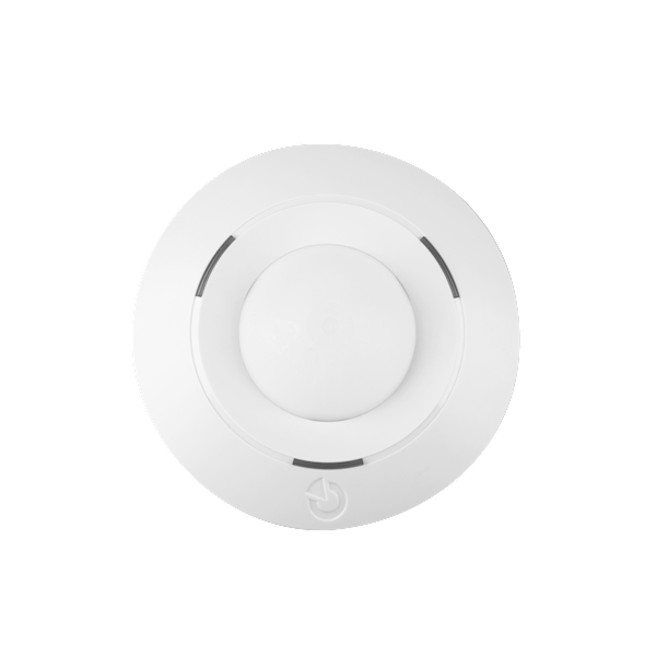The product is a bus system device for the Midway Pro and Essex Pro. This 360 ° detector is designed to detect movements of the human body in buildings. Compared to standard JABLOTRON 100 motion detectors, this detector is designed for ceiling mounting.