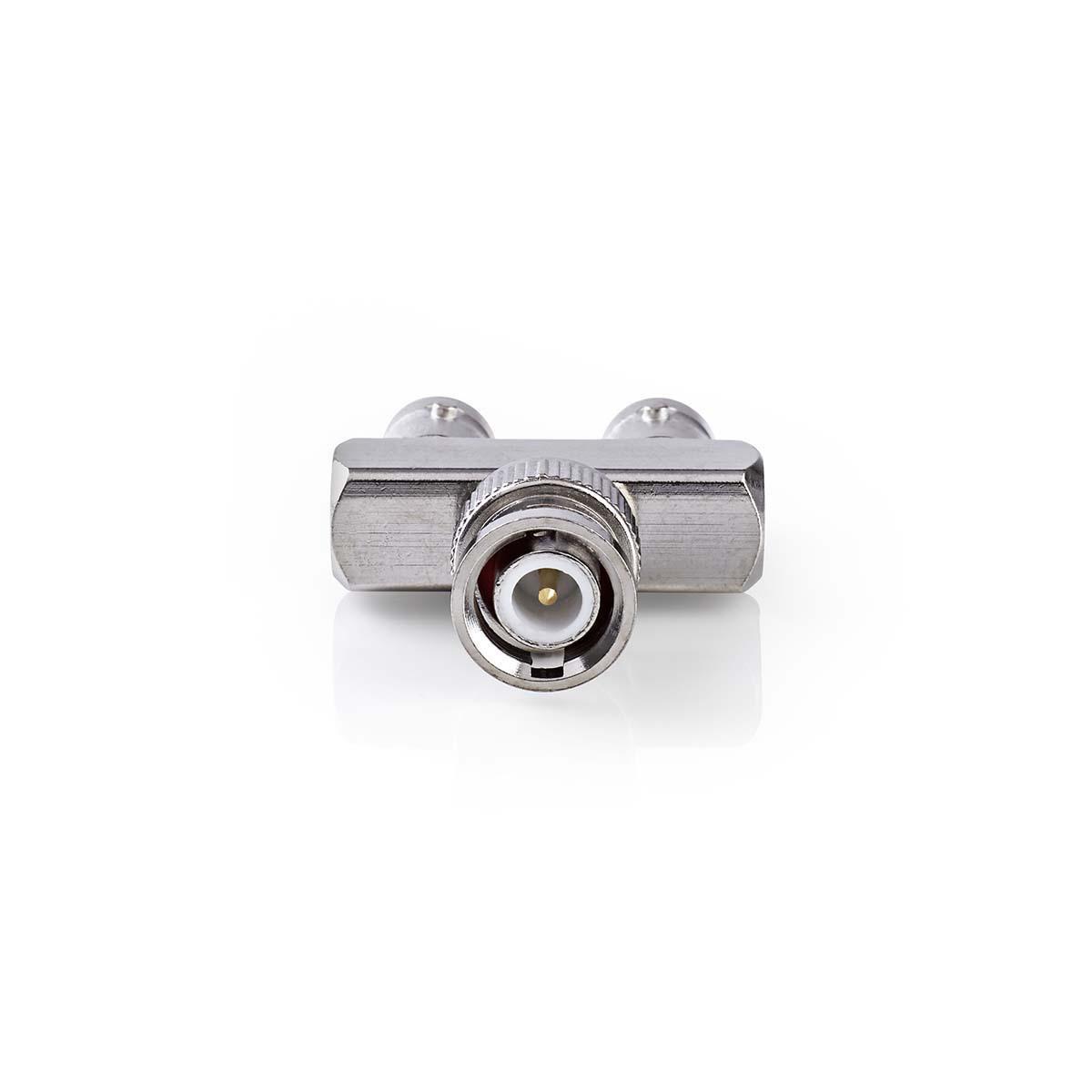 BNC plug naar 2x BNC kontra plug (Goalpost)<br /> <br /> Inhoud verpakking<br /> 1x adapter