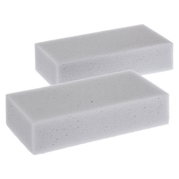 Cleaning sponge that fits for all hard surface cleaning. Easy to use and lasts long. Cleans mess often with only water - save nature! One package includes 2 sponges.