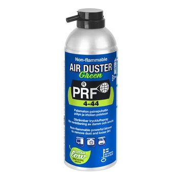 Non-flammable powerful blower to remove dust and loose dirt. An effective and powerful blower to dislodge and remove damaging dust and loose dirt from wherever it may lurk and hard-to-reach places. Compressed air canister to clean electronic equipment, su