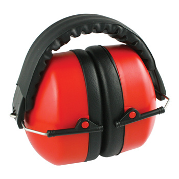 Voorkom lawaaidoofheid met deze opvouwbare gehoorbeschermers. Uitgerust met zachte vulling en een verstelbare hoofdband voor een comfortabele pasvorm. Reduceert omgevingsgeluid voor 27 dB. <br /> Is ontwikkeld volgens de CE en EN352-1 standaarden.