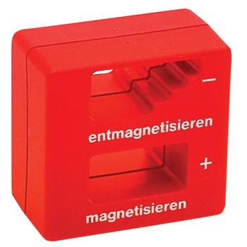 Permanente Magnetiseerspoel voor het magnetiseren / demagnetiseren van  schroevedraaierklingen, pincetten en soort gelijk gereedschap gemaakt van staal.