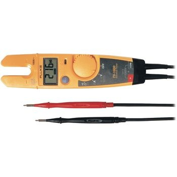The electrical tester for all uses<br /> Automatically measures AC and DC voltages<br /> Resistance test<br /> Current measurement with free-standing current fork<br /> Sleep mode preserves battery