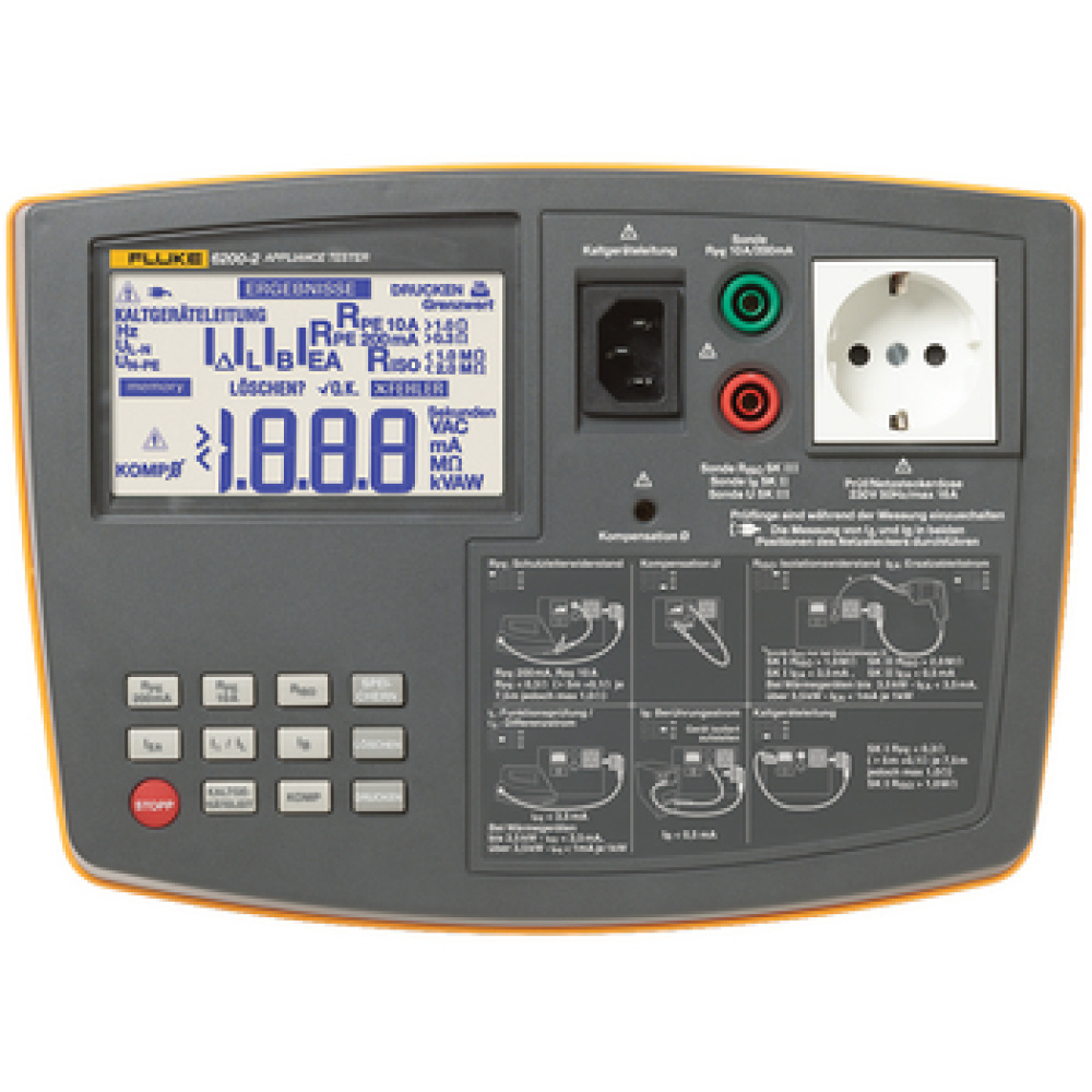 Testers verify the electrical safety and operation of portable appliances in accordance with relevant guidelines and regulations<br /> With powerful auto test capabilities (6500-2) and simplified controls, including one touch test routines<br /> PAT testers perform a