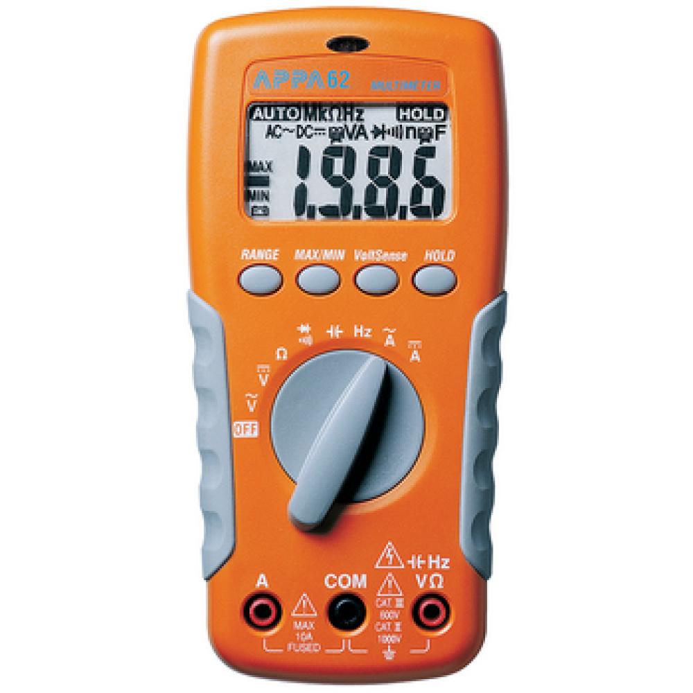 Digitale multimeter 2000 Cijfers 750 VAC 1000 VDC 10 ADC