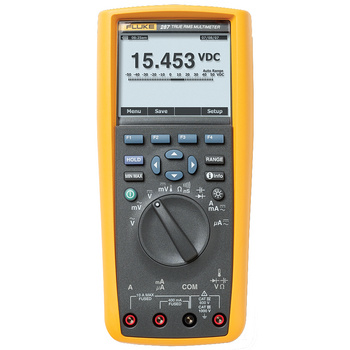 Fluke 287 Digital Multimeter <br /> Advanced diagnostic and logging functionality for maximizing productivity<br /> Replacing the popular 180 Series, the<br /> Fluke 289 and Fluke 287 represent the<br /> next generation of high-performance<br /> industrial logging multimeters,<br /> includi