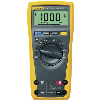 Fluke 179 Digital Multimeter <br /> Versatile meters for field service or bench repair<br /> The Fluke 179 multimeter has the features needed<br /> to find most electrical, electro-mechanical and heating and ventilation problems. It is simple to use and has<br /> significant imp