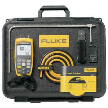 Air flow meter-Kit 1...80 m/s 0...99.999 m³/h 0...+50 °C