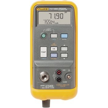Handheld instrument for calibrating pressure and vacuum sensors. Compact and rugged design for field use. Built-in electric pump for one handed operation as well as programmable interface simplifies measurements considerably.