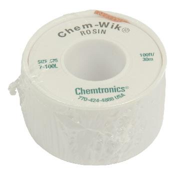 CHEM-WIK is een geavanceerd ultra dun zuiglint dat sneller werkt dan alle andere zuiglitze`s. De speciale samenstelling van puur koper zorgt voor een uitstekende warmtegeleiding, zelfs bij lage temperaturen. Hierdoor is het uitgesloten dat warmte gevoelig