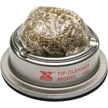 Soldering tip cleaner