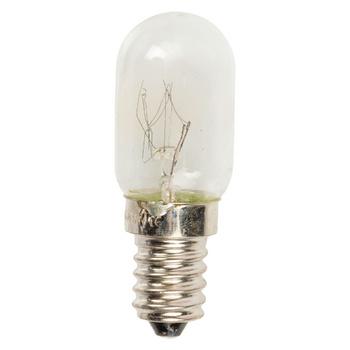 15 W reservelamp voor koelkast met E14-fitting. Gemiddelde brandtijd: 1 000 uur.