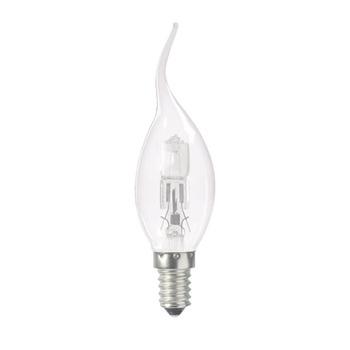 ter vervanging van kaarsgloeilampen. Deze lamp is efficiënter en zorgt voor een hogere energiebesparing. Directe verlichting en wordt minder warm in vergelijking met gloeilampen.<br /> Voor zowel commerciële als huishoudelijke toepassingen.<br /> Dimbaar (100%) met g