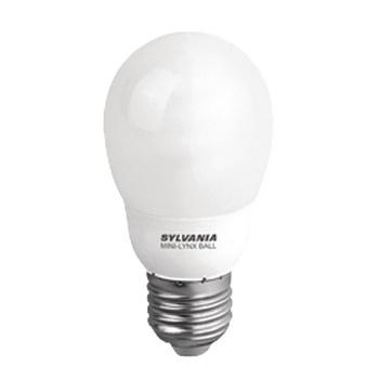 Fluorescentielamp E27 Bol 9 W 450 lm 2700 K