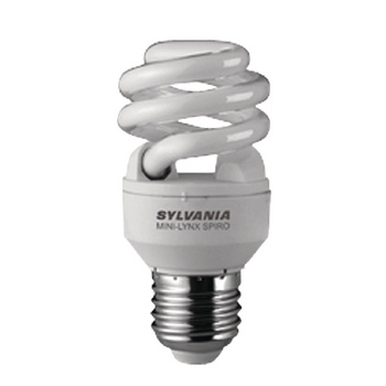 Fluorescentielamp E27 Spiraal 12 W 600 lm 2700 K