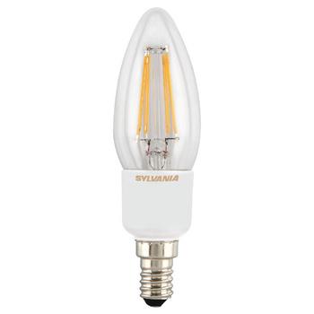 Dimbare LED Filament  lamp is een complete range van energie-efficiëntieklasse A ++, vervanging van conventionele gloeilamp en halogeenlamp. ToLEDo Retro is geproduceerd met behulp van de nieuwste LED-Filament-chip technologie die een warme sfeer creëert.