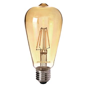 Filament led lamp ST64 Golden E27 4W 400 Lumen