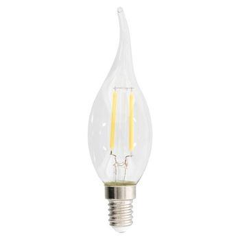 LED Vintage Filamentlamp Gebogen Kaars 2.1 W 250 lm 2700 K
