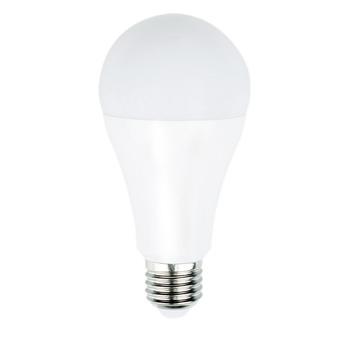 Dimbare, A60-vormige LED-lamp met E27-kap, 1 055 lumen en een zeer laag energieverbruik van 9,2 watt, ter vervanging van de traditionele 75-watt gloeilampen en voor directe energiebesparing. <br /> De lamp verspreidt een warm wit licht met een kleurtemperatuur