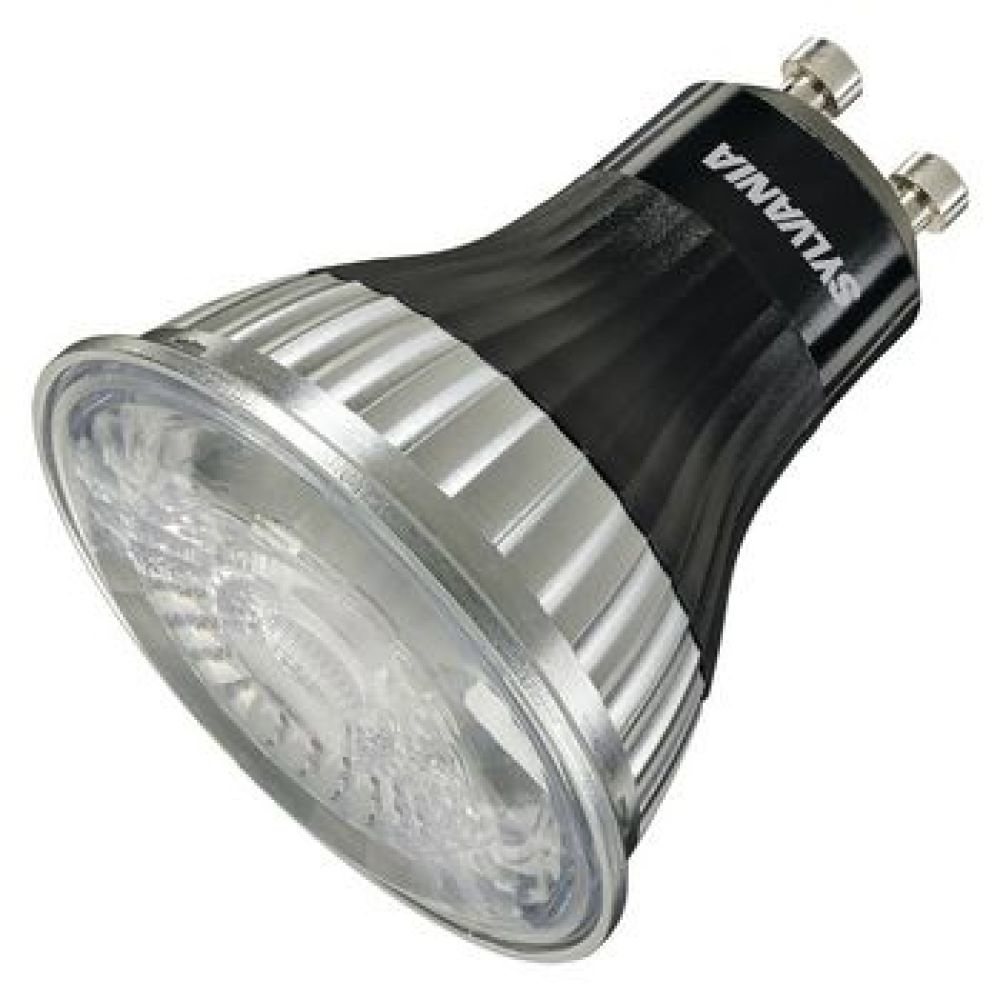 REFLED SUP.ES50 V3 400LM DIM 827 40° SL<br /> • High performance energy efficient LED dimmable GU10 with size and visual appearance of halogen lamp <br /> • High lumen output: 400lm-425lm-450lm <br /> • Unique halogen facetted lens design <br /> • Ideal for use with any colour d