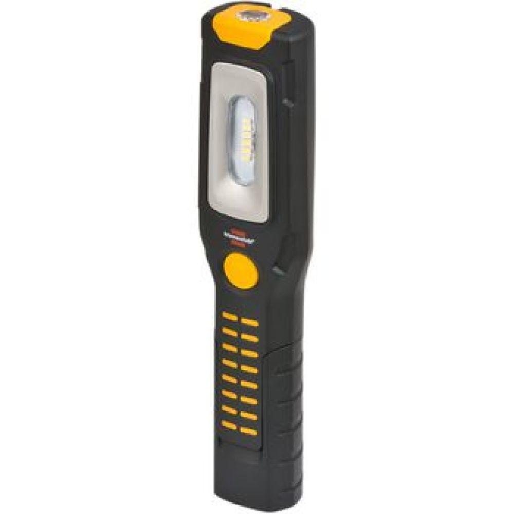 Multifunctionele lamp met 6 + 1 led-lampen en batterij HL2 DA 61 M3H2. <br /> Veelzijdig, robuust en met uitstekend lichtrendement. <br /> 6 uiterst heldere SMD LED's vooraan met gebruiksduur tot 3 uur bij volle batterij. <br /> Extra schakelstand voor 1 aparte led-lamp in