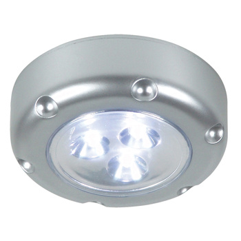 Type: Florenz<br /> Handige LED pushlight. Welke makkelijk te gebruiken is waar stroom niet altijd beschikbaar is. Bijvoorbeeld voorraadkasten, tenten, etc.