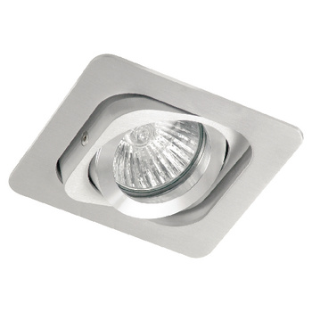 Halogeen Downlight 50 W Rectangular Aluminium