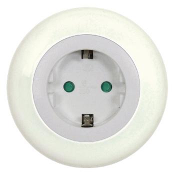Deze LED nachtlamp brengt licht in de duisternis. Dankzij de ingebouwde dag/nachtsensor zal dit nachtlampje gaan branden zodra de duisternis invalt. Ideaal als oriëntatieverlichting voor de overloop, hal of kinderkamer. Dit lampje hoef je enkel in het sto