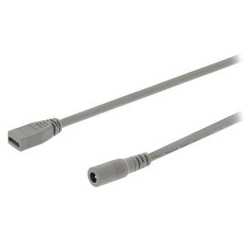 Verbindingskabel om niet-flexibele LED-bars rechtstreeks aan te sluiten op de netvoeding. Geschikt voor alle niet-flexibele HQ LED-bars.
