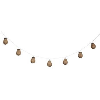 Plaats deze lichtslinger in uw woonkamer, slaapkamer of kantoor om de sfeer te creëren die u wenst. De op batterijen werkende lichtslinger is beschikbaar in verschillende ontwerpen om eindeloos te variëren in decoratie in huis. Alleen voor gebruik binnens