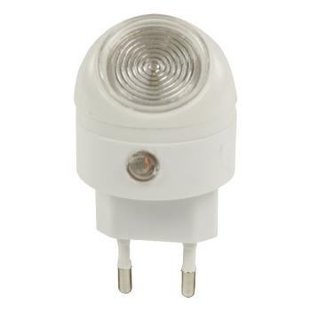 Eenvoudig en klein LED-nachtlampje. Eenvoudig in gebruik en 360° draaibaar. De sensor zorgt ervoor dat het lampje automatisch aan gaat wanneer het donker wordt.