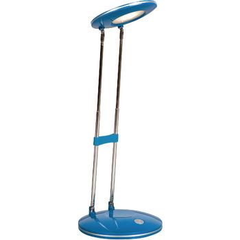 De Ranex bureaulamp Febe blauw is een moderne bureaulamp. De bureaulamp is gemaakt van metaal en heeft een blauwe kleur, hierdoor een strakke uitstraling. Daarmee past de bureaulamp met gemak in iedere moderne werkkamer. De lamp heeft een geïntegreerde le